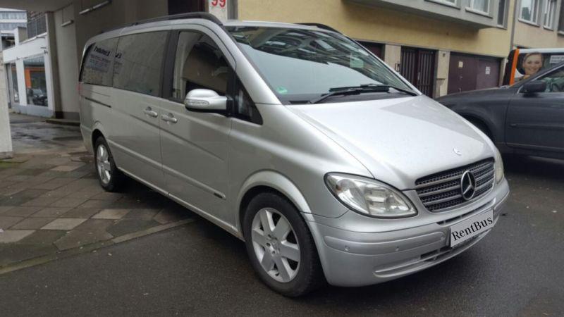 Минивэн заказать Mercedes Viano Киев