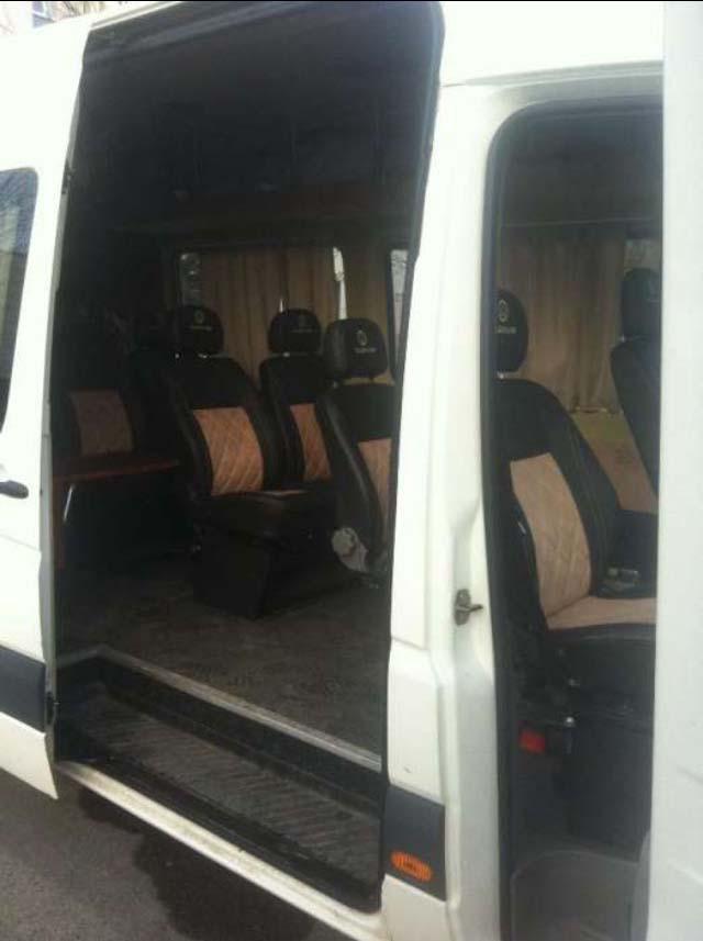 Аренда микроавтобуса цена с водителем Киев. VW Crafter