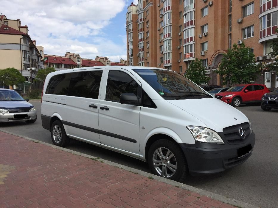 Аренда микроавтобус Мерседес Вито Киев