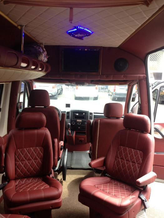 bus rent vip Mercedes Sprinter