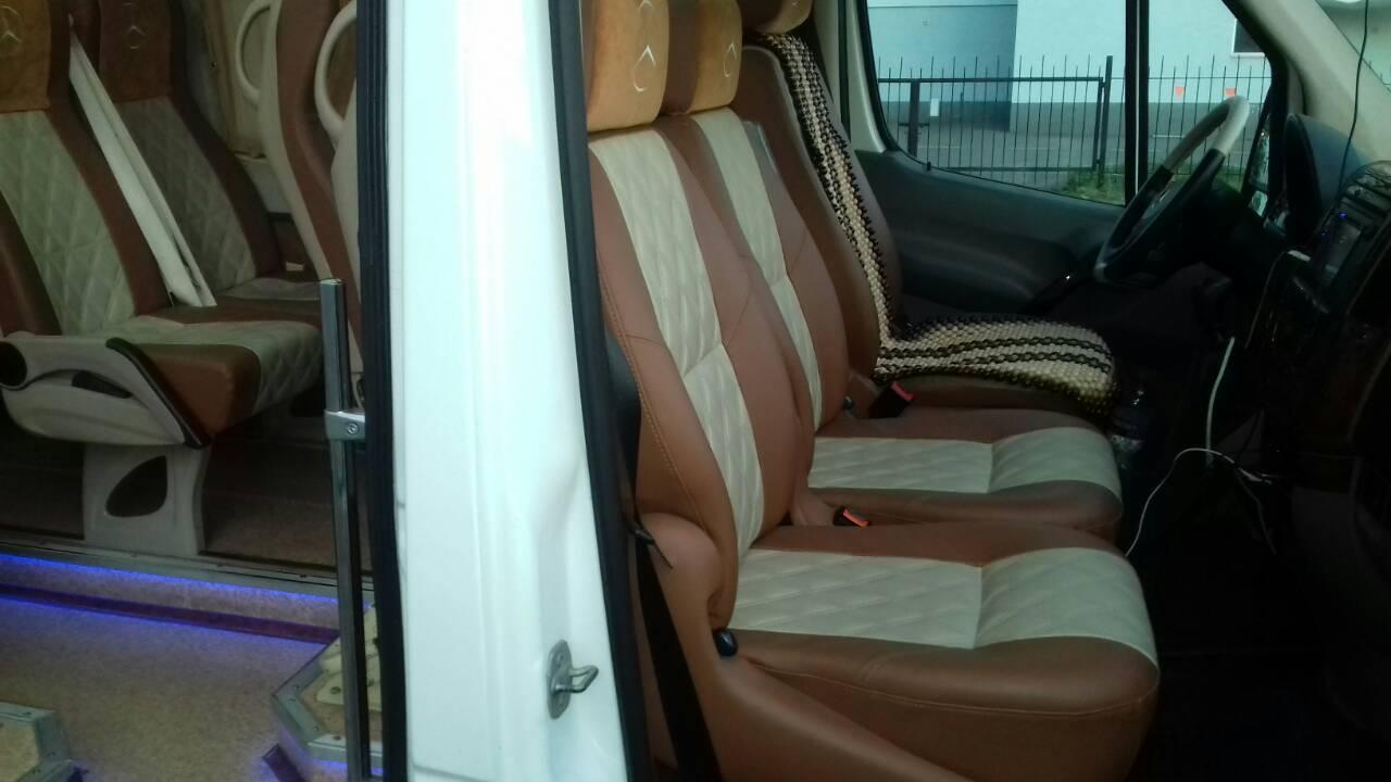Аренда микроавтобуса на свадьбу Киев Mercedes Sprinter
