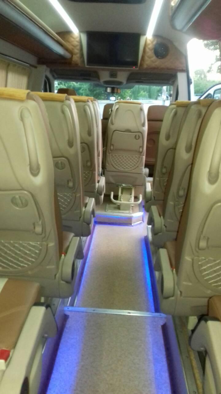 Аренда микроавтобуса на свадьбу в Киеве Mercedes Sprinter