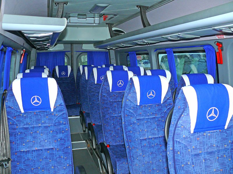Заказать микроавтобус в Киеве Mercedes Sprinter