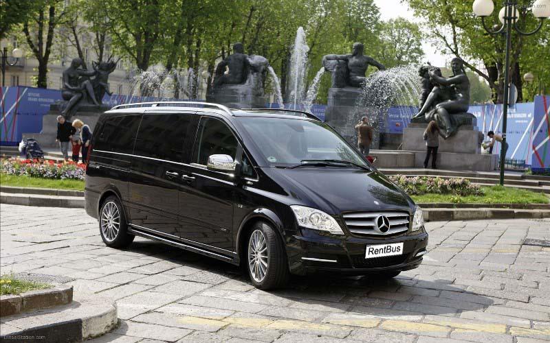 Заказать мини вэн Mercedes Viano в Киеве