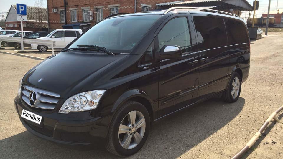 Rent minivan Mercedes Viano