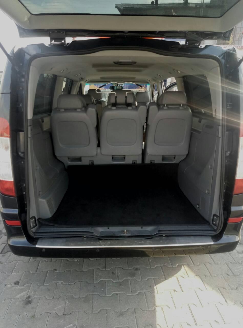 Rent minivan Mercedes Viano Kiev