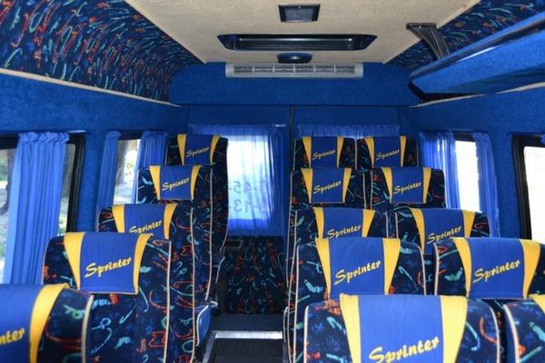 Аренда микроавтобуса 18 мест Mercedes Sprinter