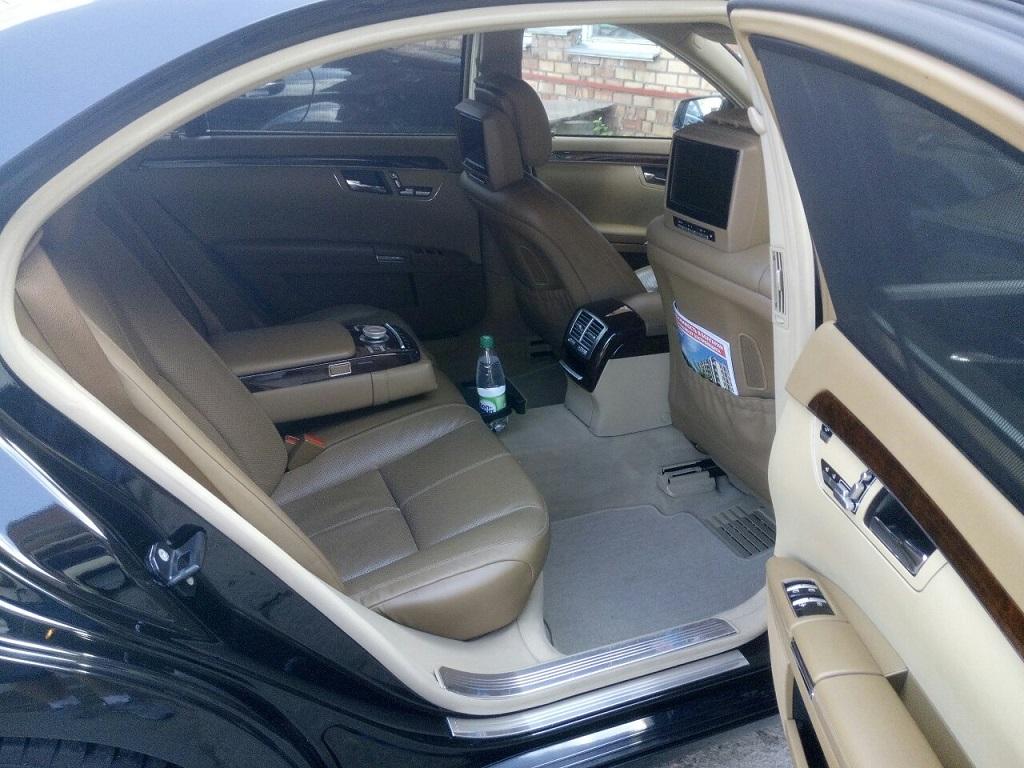 Аренда авто премиум класса с водителем Mercedes S-class