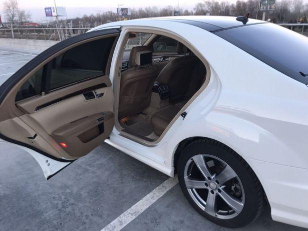 Аренда представительского авто с водителем Mercedes S-class