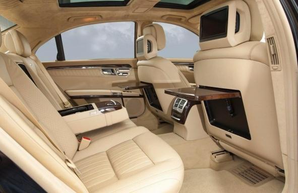 аренда Mercedes S-class Киев