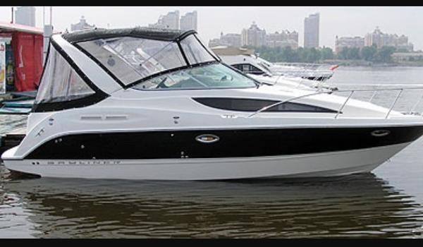 Аренда катера Киев Bayliner 285
