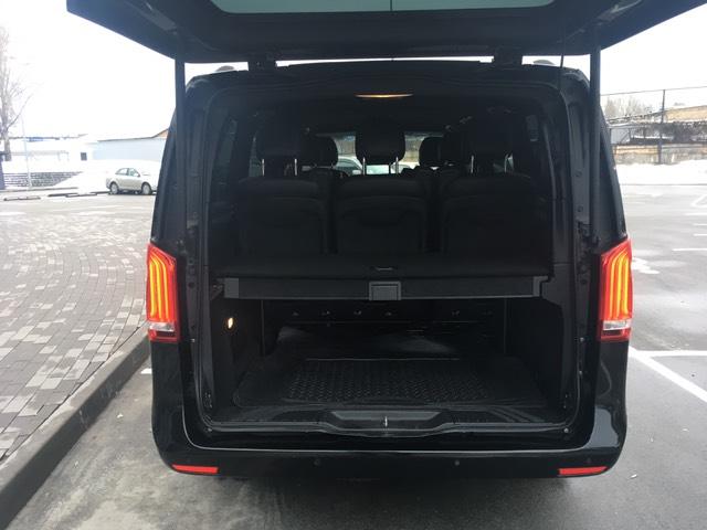 Аренда микроавтобуса бизнес класса Mercedes V-klass