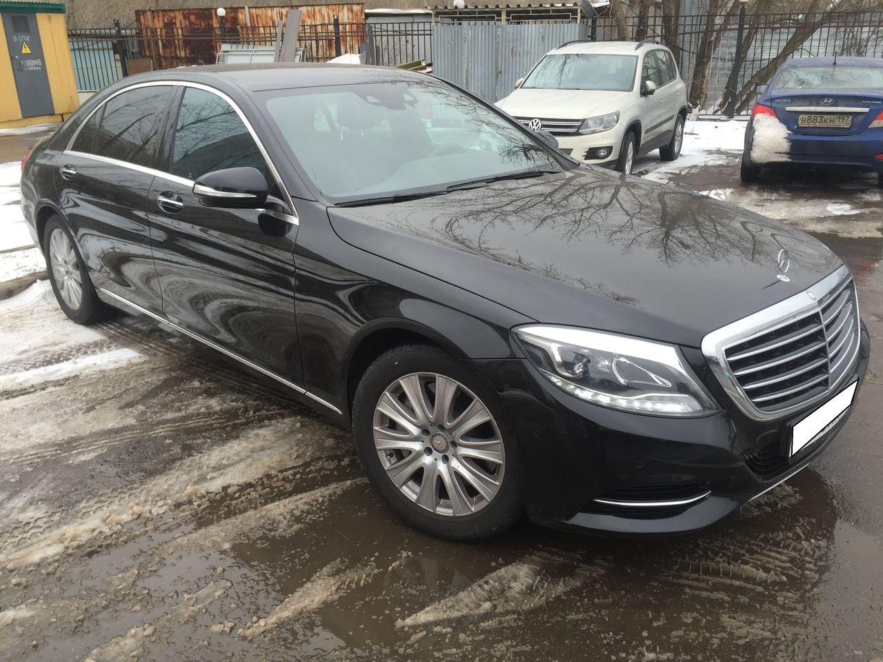 Аренда Vip автомобилей Киев. Mercedes S-class w222