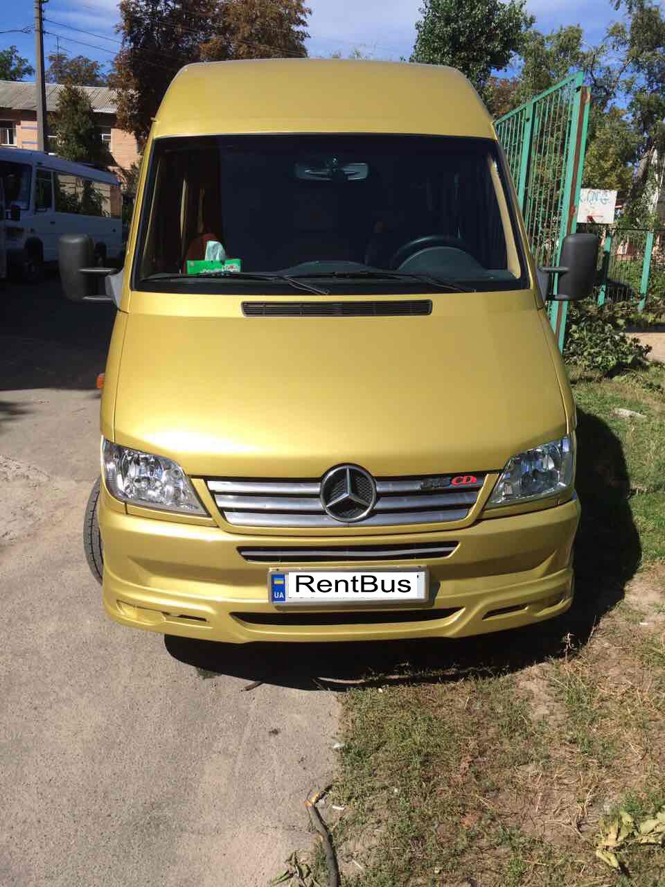 Микроавтобус на заказ Mercedes Sprinter Gold